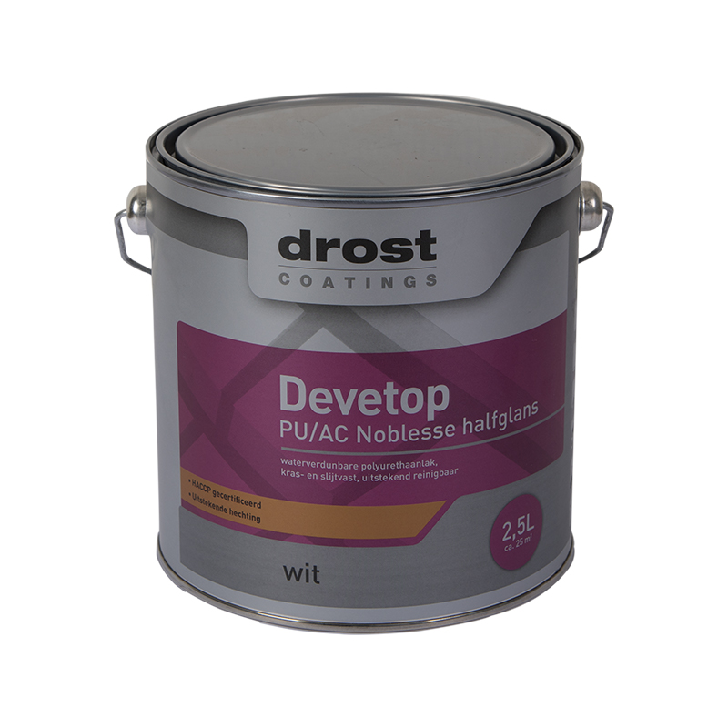 Drost Coatings | Product | Devetop PU/AC Noblesse Glans (13000)