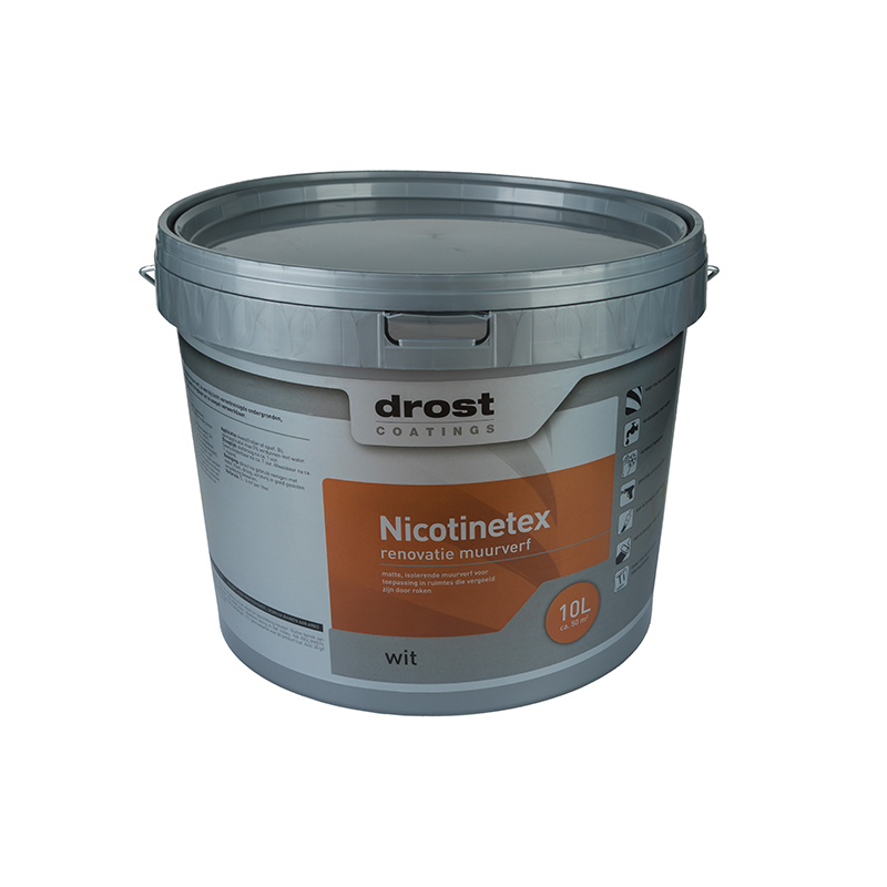Drost Coatings | Product | Nicotine-tex (2402)