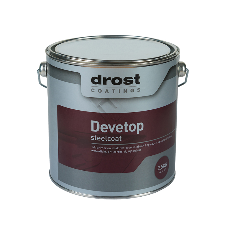 Drost Coatings | Product | Devetop Steelcoat (3100)