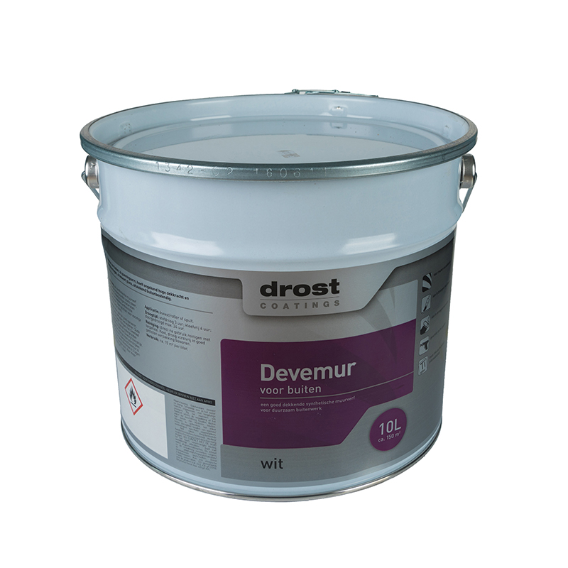Drost Coatings | Product | Devemur Synthetische Muurverf (2211)