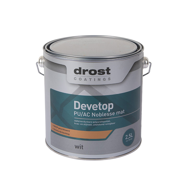 Drost Coatings | Product | Devetop PU/AC Noblesse Mat (13160)